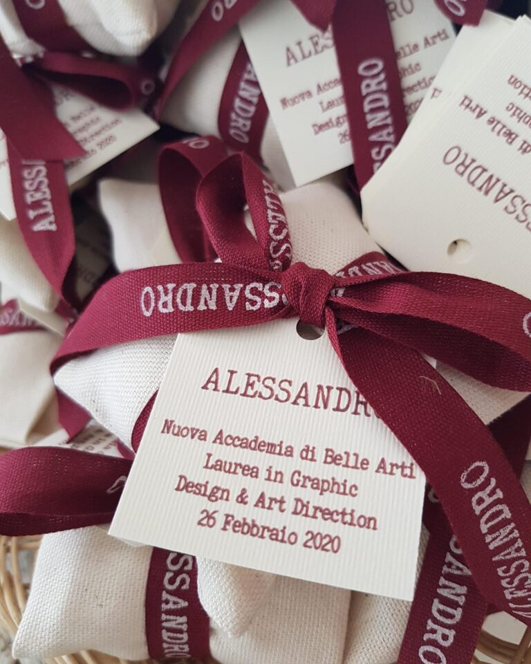 Bomboniere per laurea personalizzate porta confetti