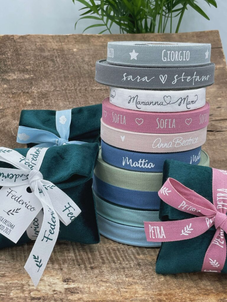 bonbonnieres-ribbons-customized