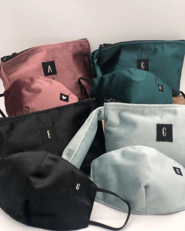 Velvet bag customized